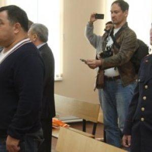 Муслим Ундаганов на скамье подсудимых