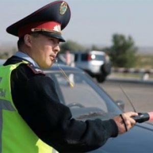 дорожный полицейский