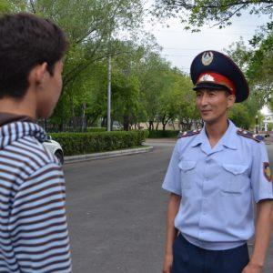полицейские трудоустраивают подростков