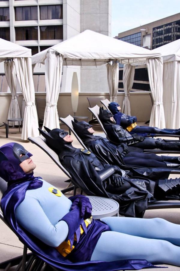 Супергерои на отдыхе