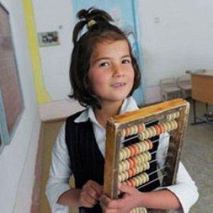 Школьница в Таджикистане Фото: Марина Маковецкая / РИА Новости