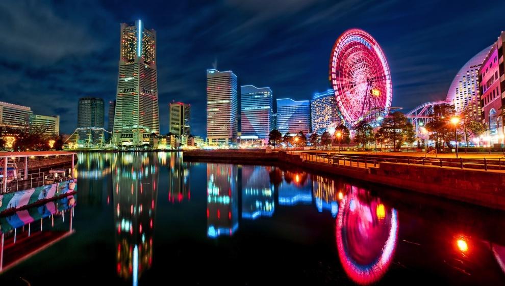 8258610-R3L8T8D-990-japan_tokyo_cityscapes_yokohama_city_lights_bay_1920x1080_16155