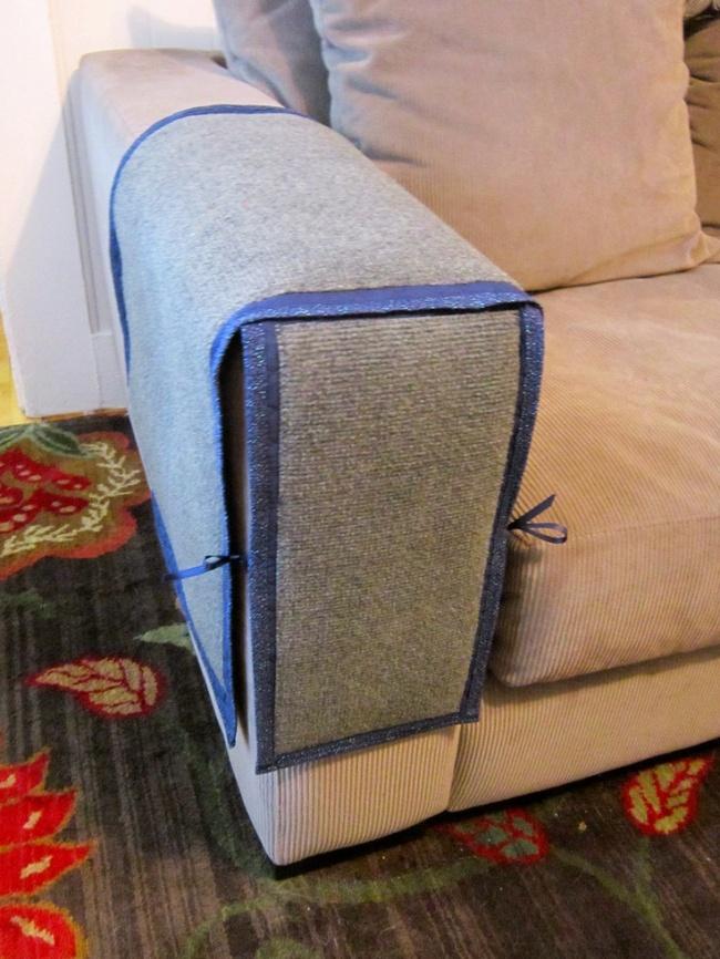 Чехлы на подлокотники дивана