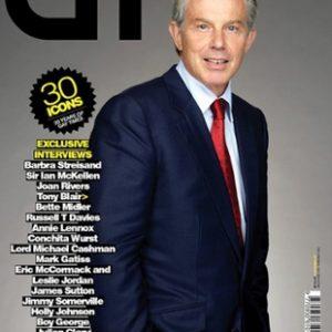Blair given top gay icon accolade