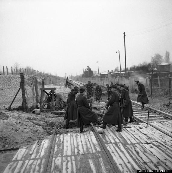 WWII Post- War  Germany  Unats Area  Border Blockade