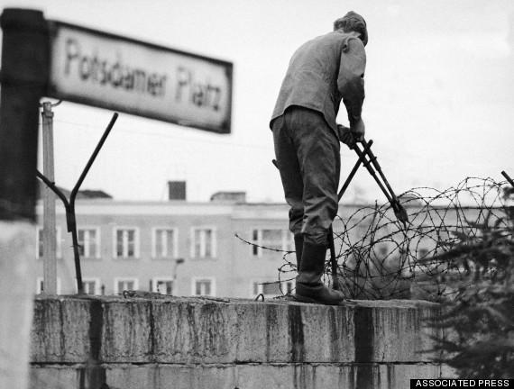 Потстадмская площадь, восточный сектор 12 августа 1966 г. (AP Photo/Herrmann)