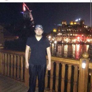 Максат Усенов на отдыхе в Дубаи