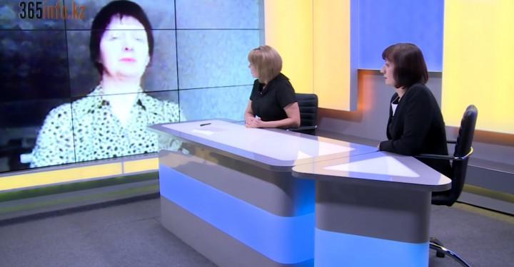 Татьяна Дельцова и психолог Ирина Витовтова