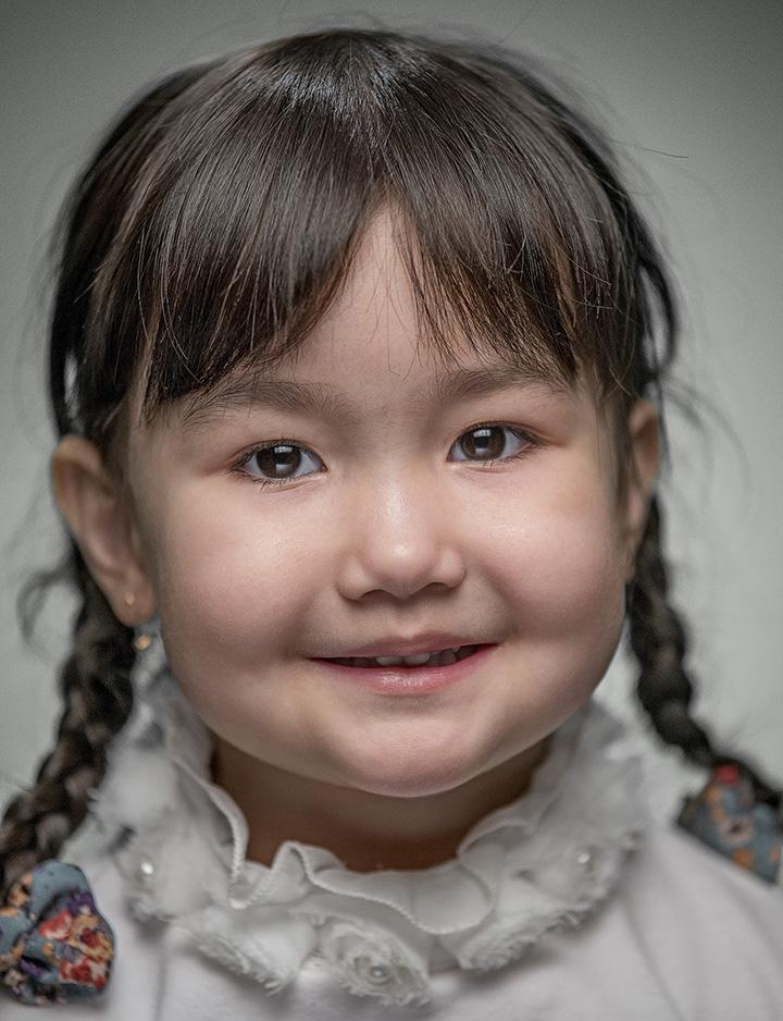 Фото детей метисов казахов