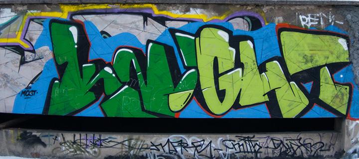 граффити Knight
