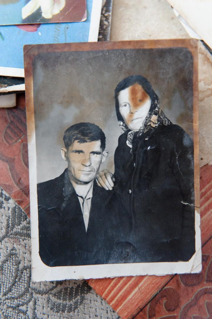 Баба Лена вместе с мужем