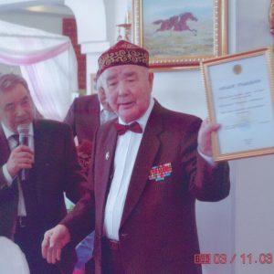 ветеран Джубаниязов