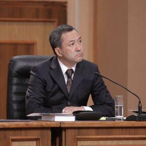 Адвокат Жангельды Сулейманов