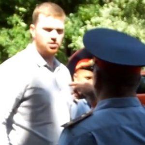 Александр Кузнецов сразу после вынесения приговора судом первой инстанции