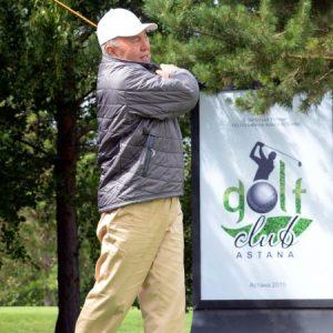 Назарбаев гольф
