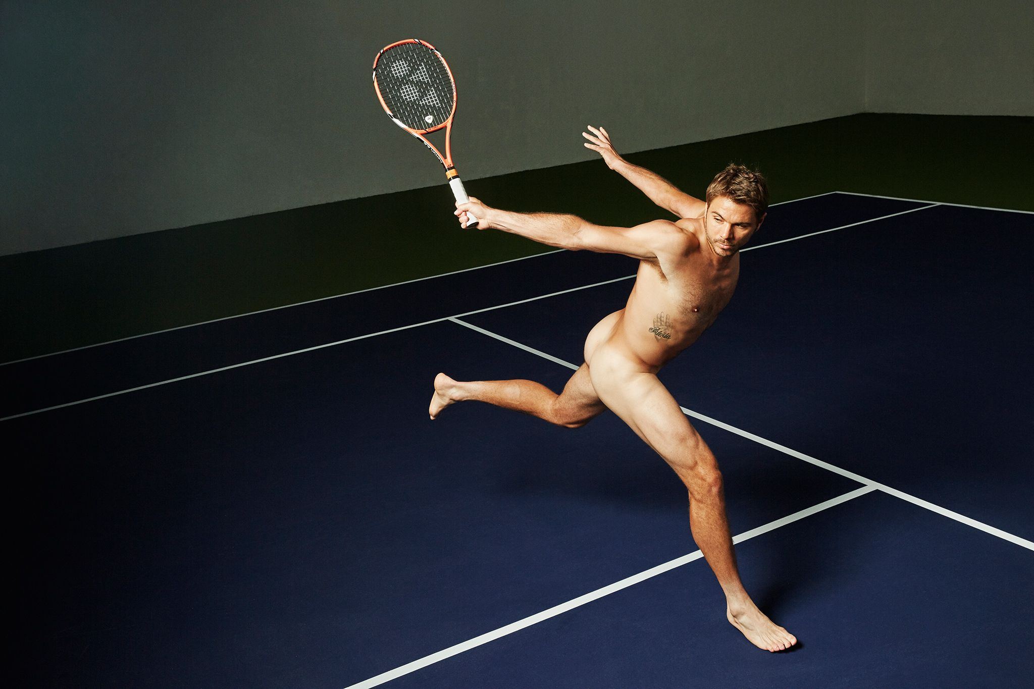 Mens tennis naked