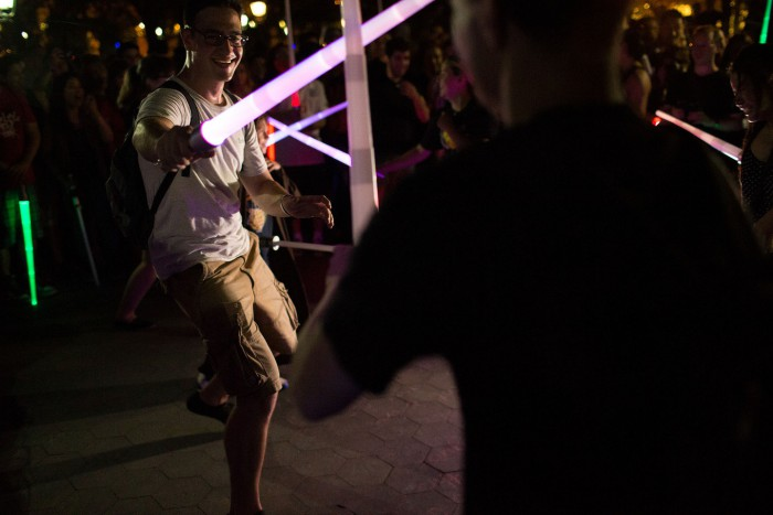 Lightsaber Battle NYC 2015