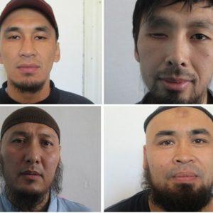 4 беглых экстремиста. Источник - КирТАГ.