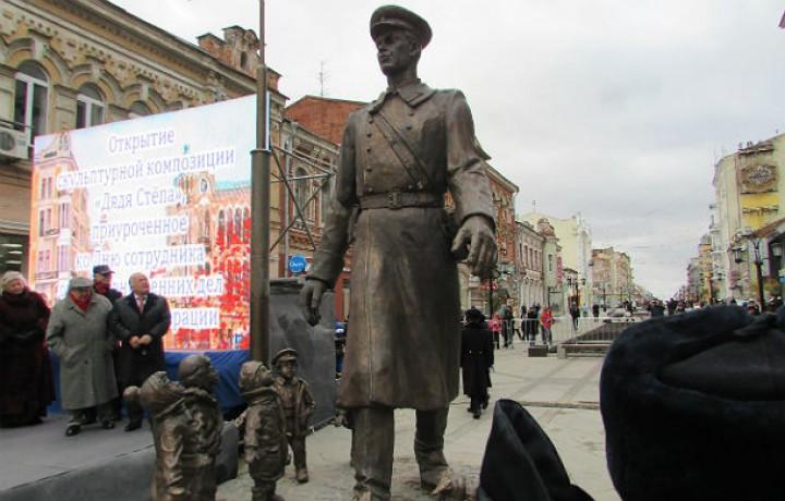 Памятник дяде степе нижний новгород адрес изготовление со свечойий памятники 6 Выборгская