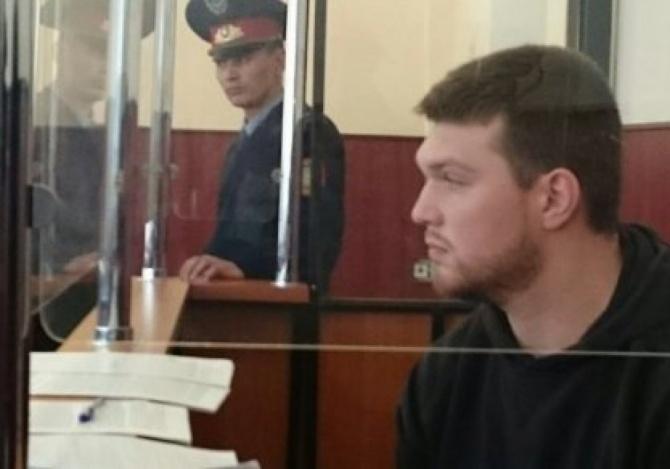 Александр Кузнецов на скамье подсудимых
