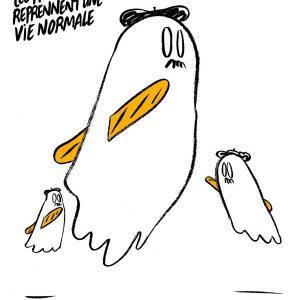 Карикатура на https://charliehebdo.fr/