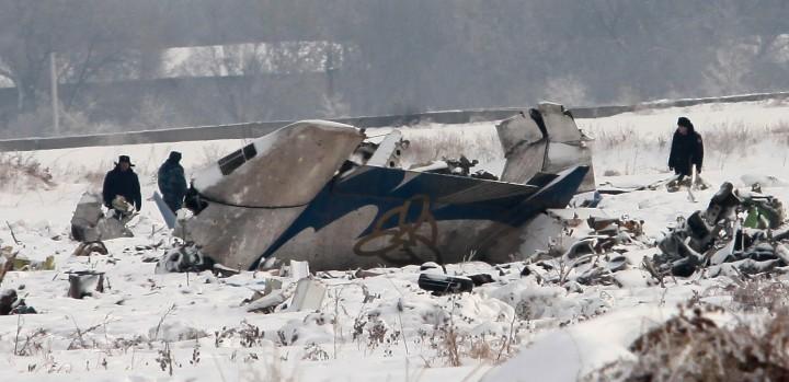 Первые часы после авиакатастрофы 29 января 2013 года.