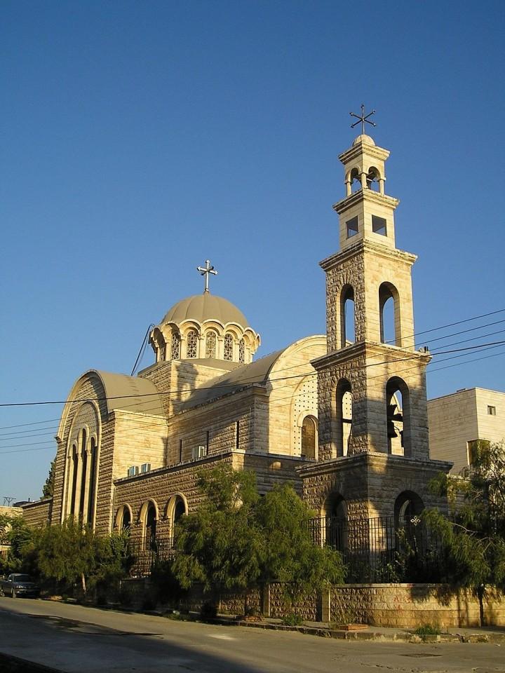 Христианский храм в Сирии