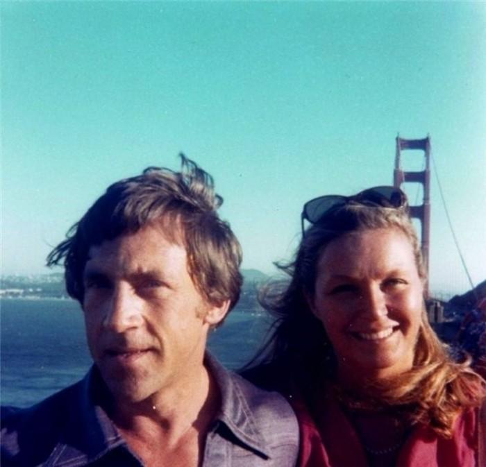 Владимир Высоцкий и Марина Влади в Сан-Франциско, 1976 год (фото из личного архива Марины Влади).
