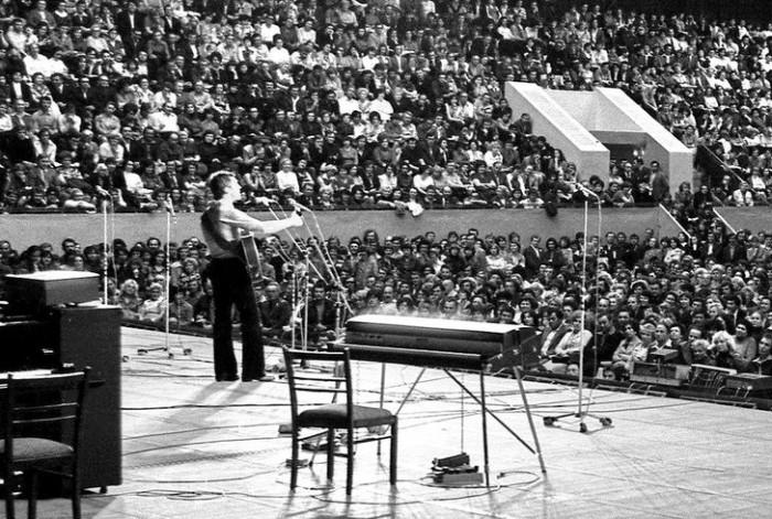 Концерт Владимира Высоцкого в Харькове, 1978 год (фото из личного архива певца).
