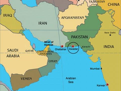 Чабахар - один из стратегических портов Арабского моря