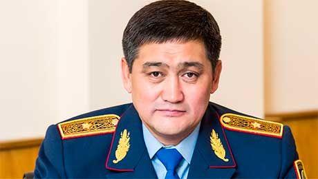 Начальник ДВД Алматы С.Кудебаев