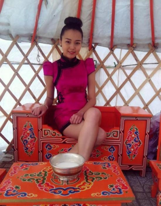 Монгольская сексуалная девушки