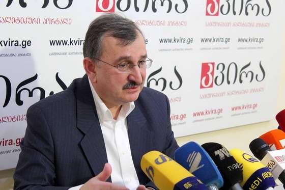 Роман Гоциридзе, бывший глава Национального банка Грузии, независимый эксперт
