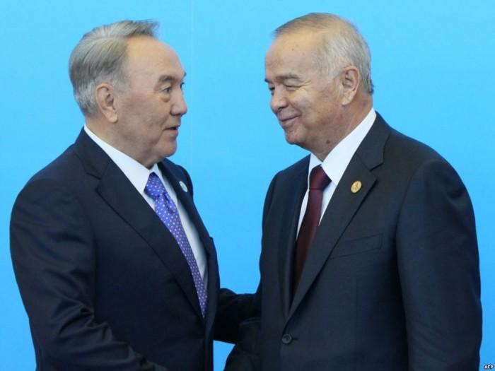 Нурсултан Назарбаев и Ислам Каримов