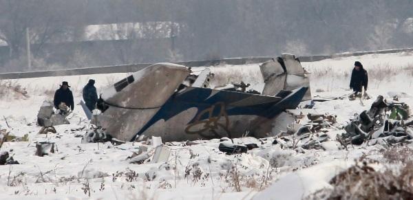 Обломки CRJ-200. Источник - news.caravan.kz