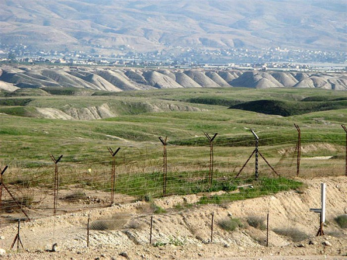 граница Узбекистана и Кыргызстана