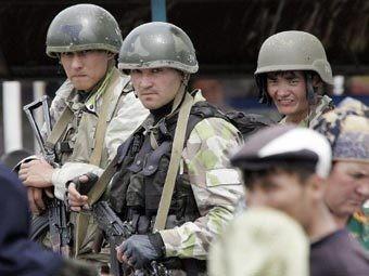 Узбекские пограничники. Источник - aloqada.com