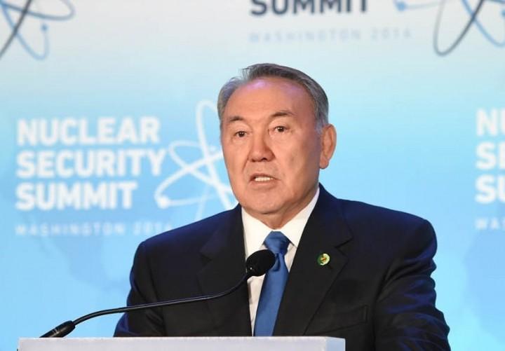 Нурсултан Назарбаев на Саммите по ядерной безопасности в Вашингтоне.