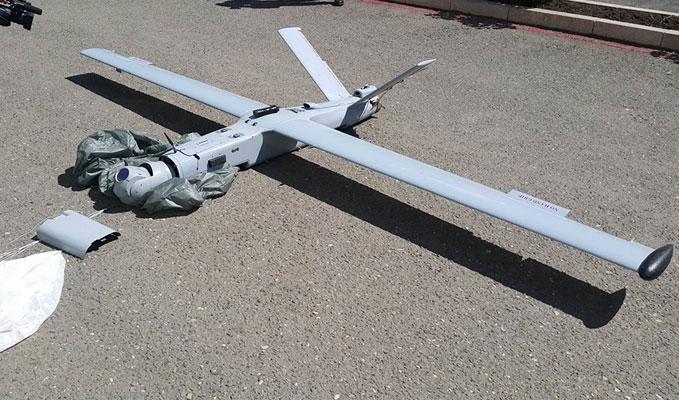 Якобы сбитый азербайджанский беспилотник. Фото минобороны Армении