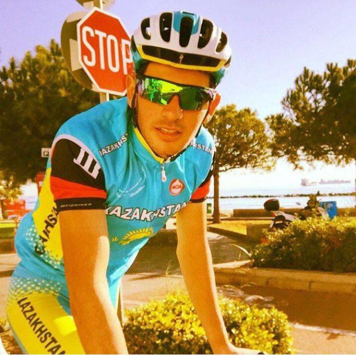 Хаджи Гунайдин. Фото со страницы Казахстанской ассоциации велоспорта.