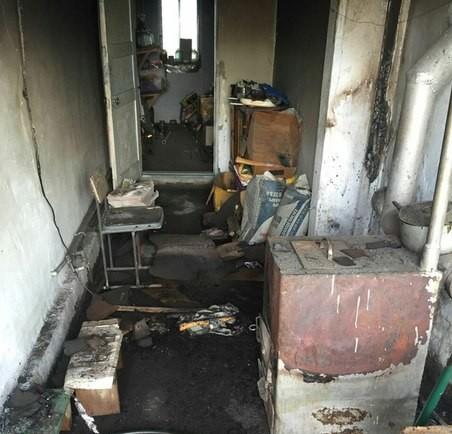 После пожара. Фото ДВД Алматинской области