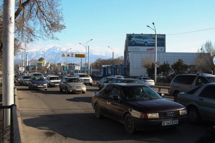 Райымбека-Сейфуллина. Источник - yvision.kz