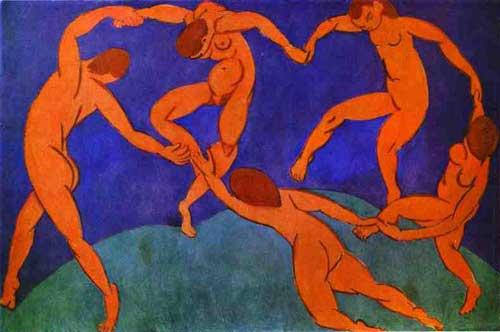 Анри Матисс. Танец (1910). Источник - wikipedia.org