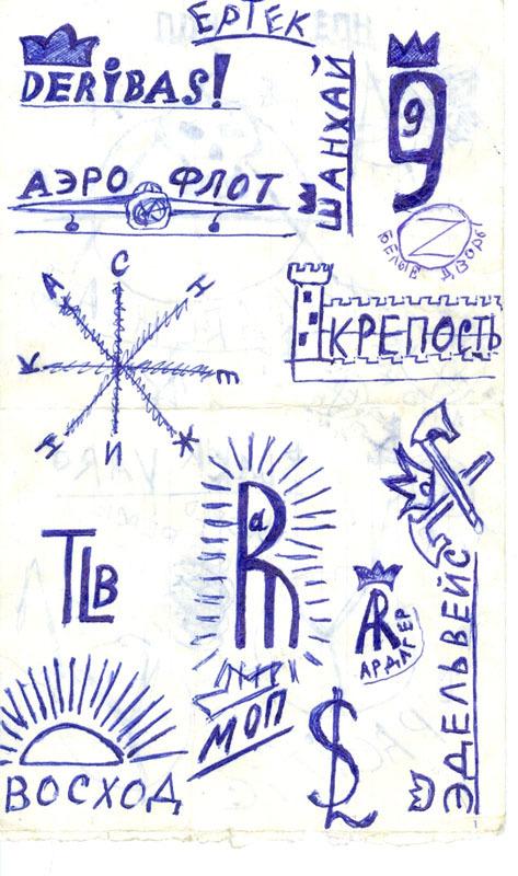 Алма-Ата пацанская - карта
