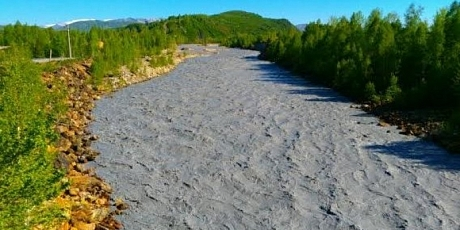 Загрязненная река Филипповка. Источник - news.allinfo.kz