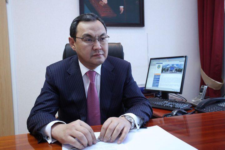 Ахылбек Куришбаев. Фото с сайта kazakh-zerno.kz.