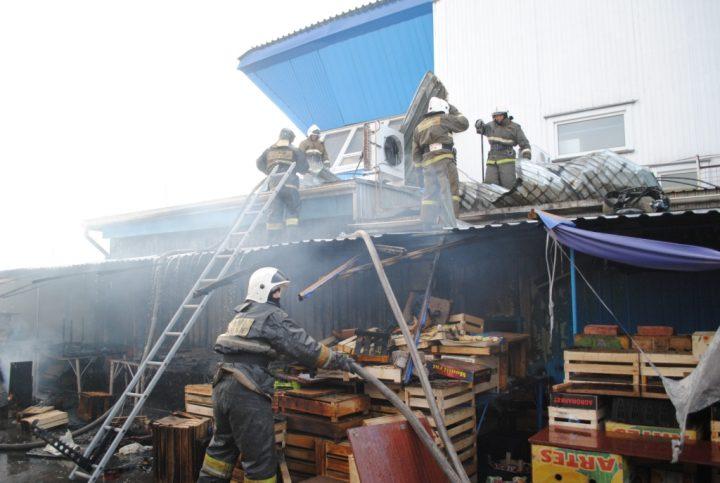 пожар в петропавловске1