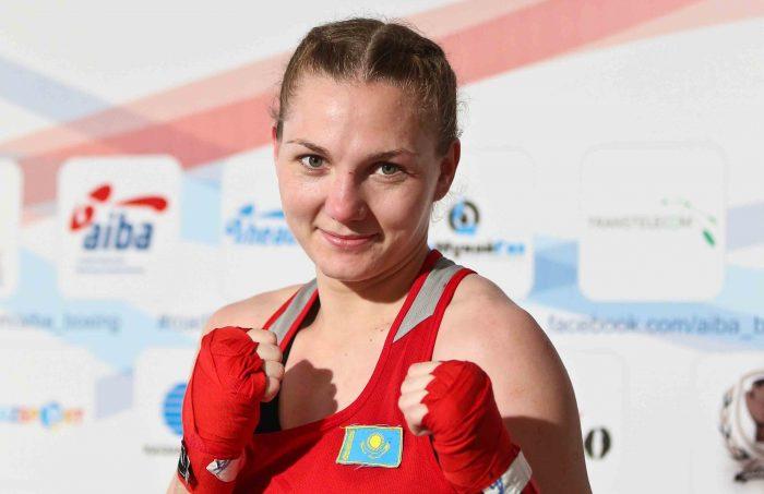 В. Хальзова. Источник - olympic.kz
