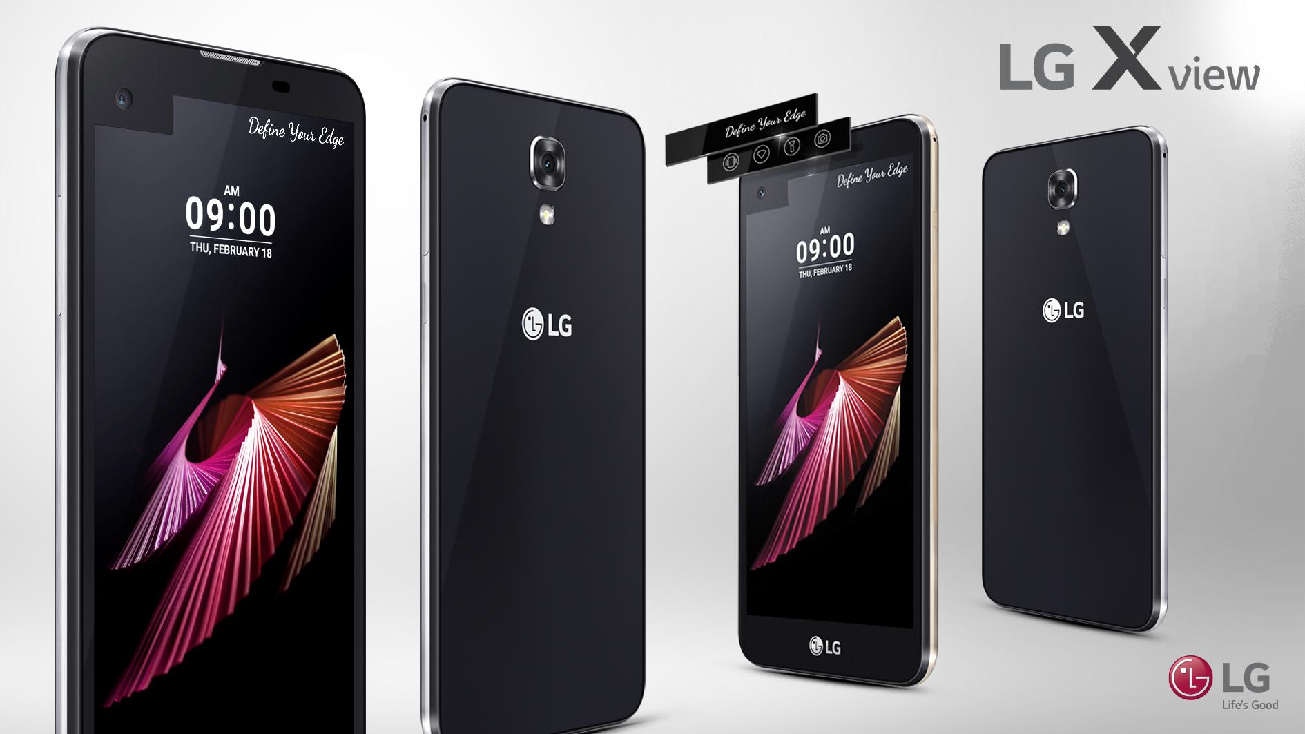 Новый смартфон LG X view