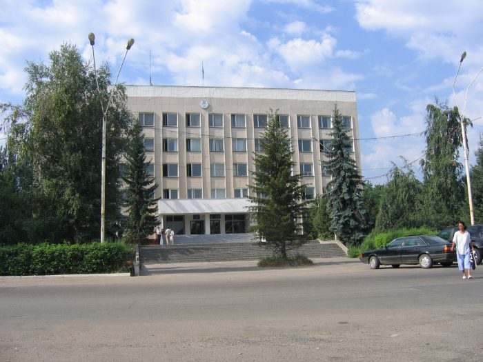 Здание акимата в Талгаре. Источник - e-talgar.com